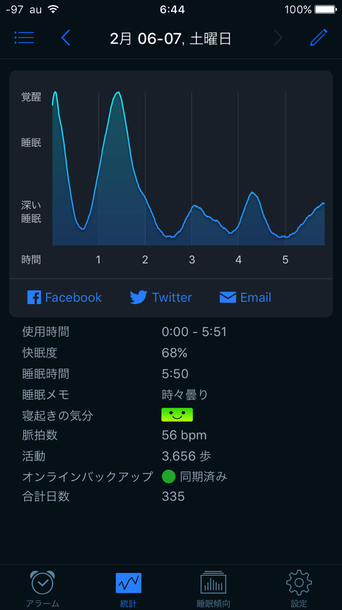 Sleepcycle 20160207