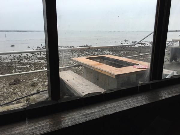 大福丸からの外の光景の画像