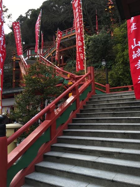 祐徳稲荷神社のご本殿の階段の画像