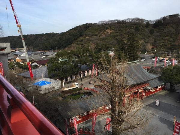 祐徳稲荷神社のご本殿からの景色の画像