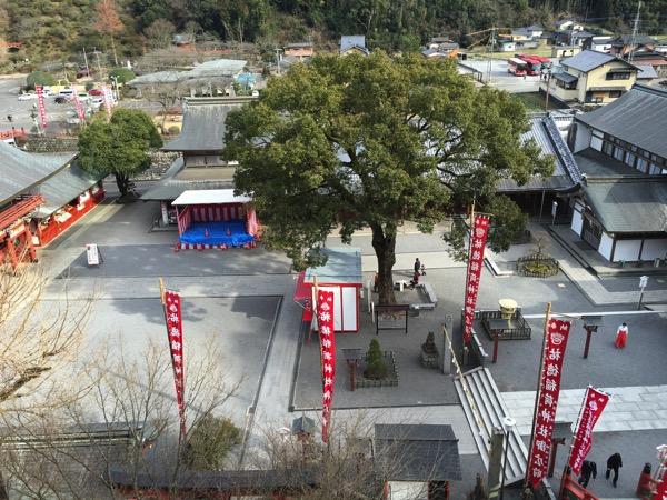 祐徳稲荷神社のご本殿からの景色の画像2