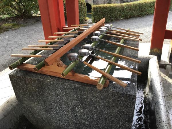 祐徳稲荷神社の手水舍の画像