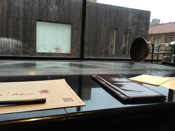 ステーキハウス煉の個室からの景色の画像