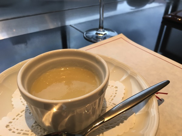 菊芋のポタージュの画像
