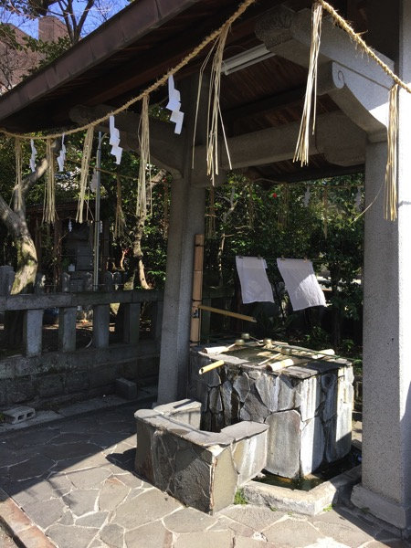 熊本大神宮の手水舍の画像