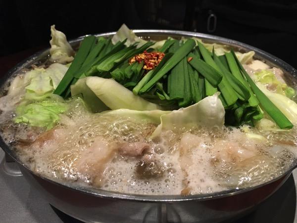 博多もつ鍋前田屋の和牛もつ鍋しょうゆ味の画像