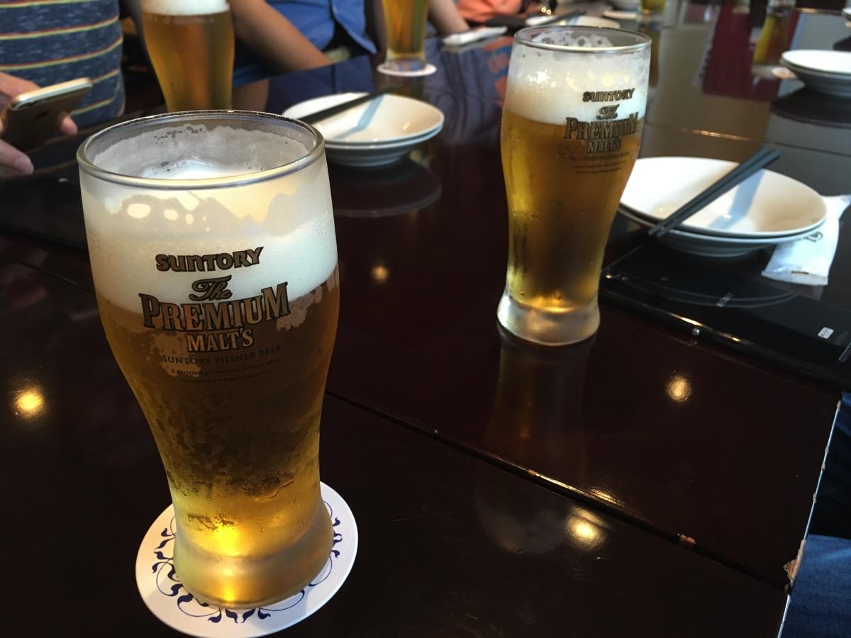 コシーナウチダの生ビールの画像