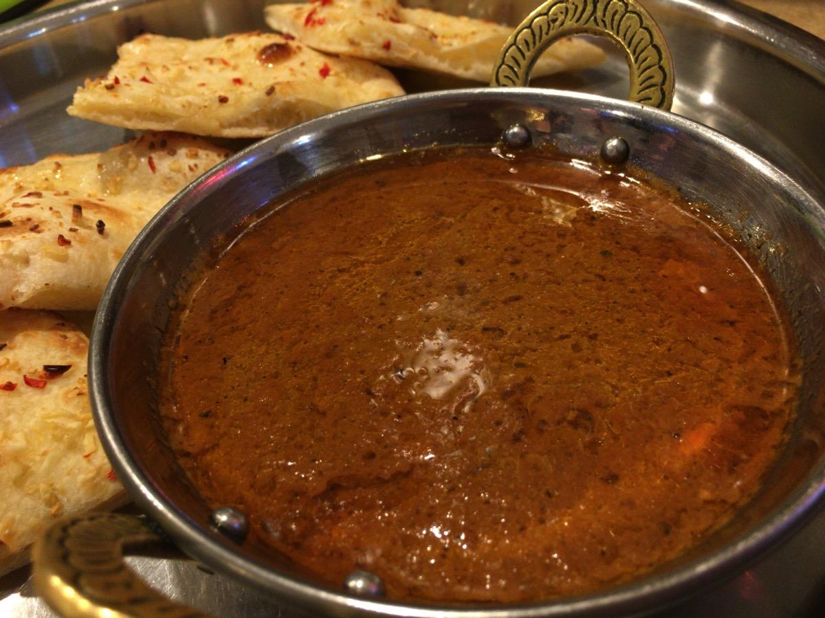 インドレストラン アラジンのチキンカレー辛口