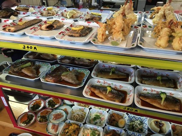 おふくろ食堂はまゆうの料理の画像