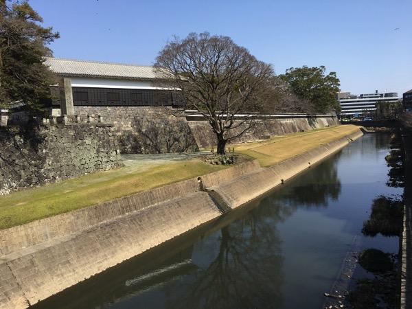 熊本城の堀の画像