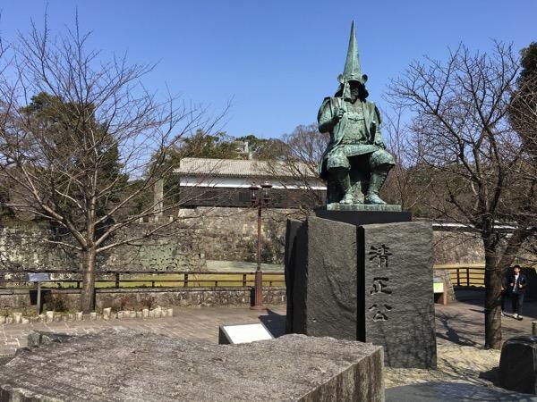 加藤清正公の像の画像