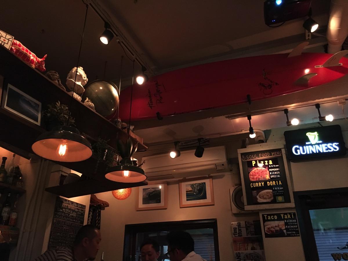 COFFEE BAR mellowの天井の画像