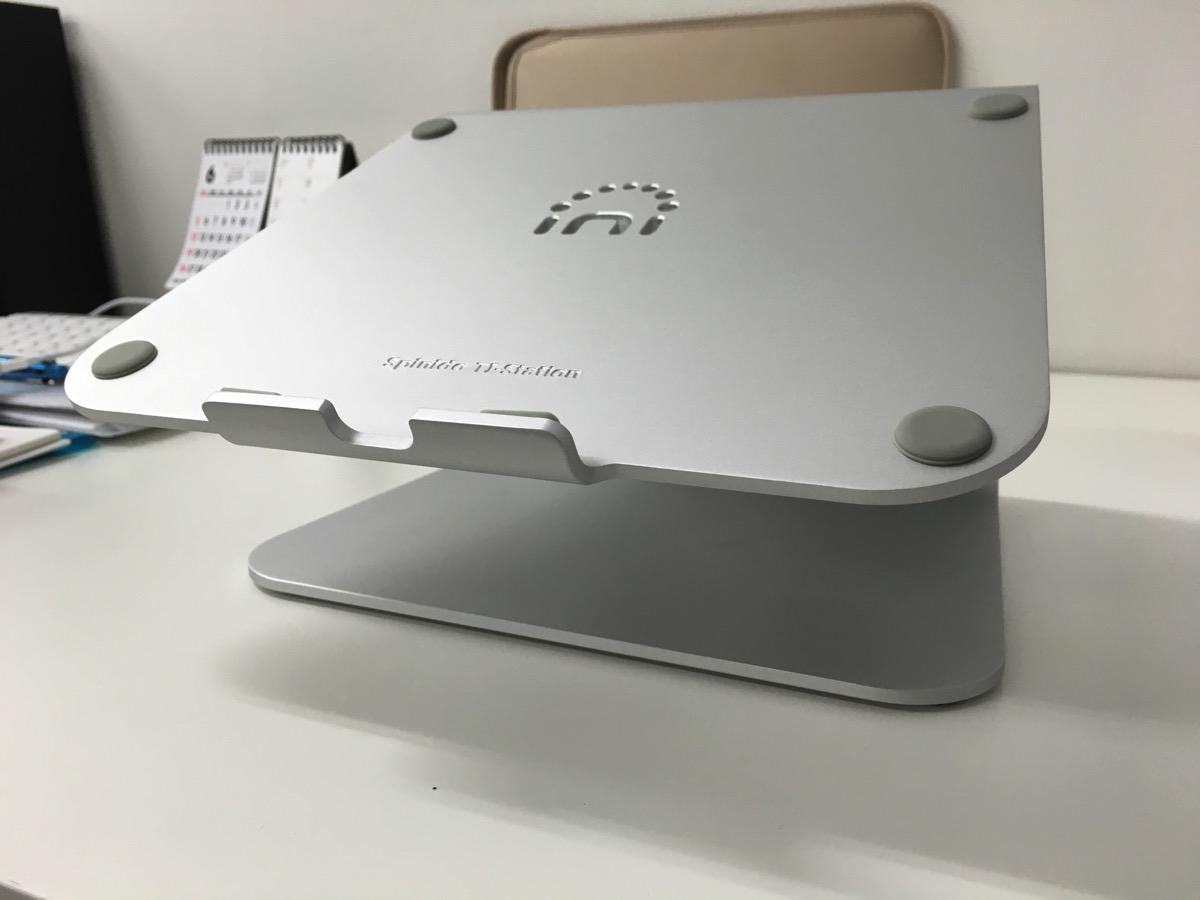 Spinido アルミニウム製ノートPCスタンドの画像
