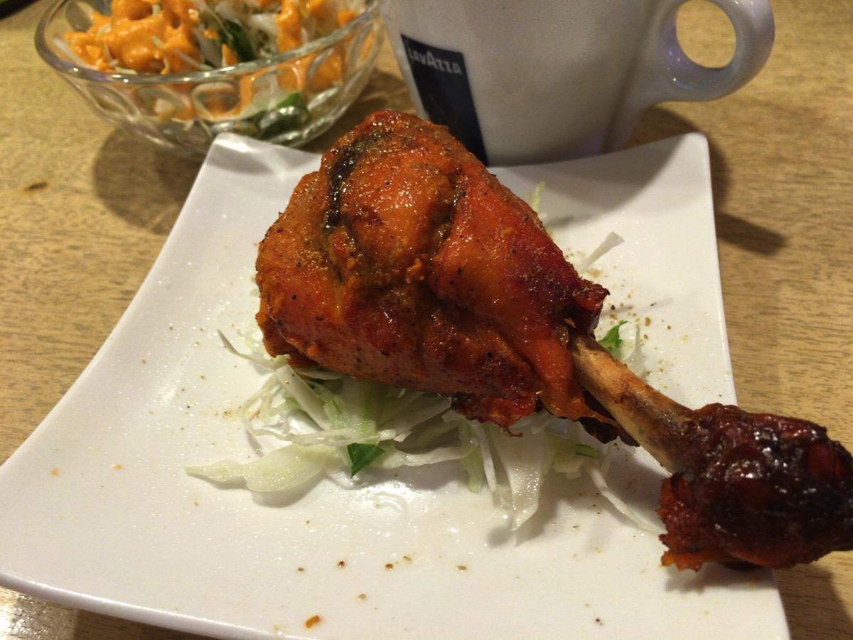 インドレストラン アラジンのタンドリーチキンハーフ