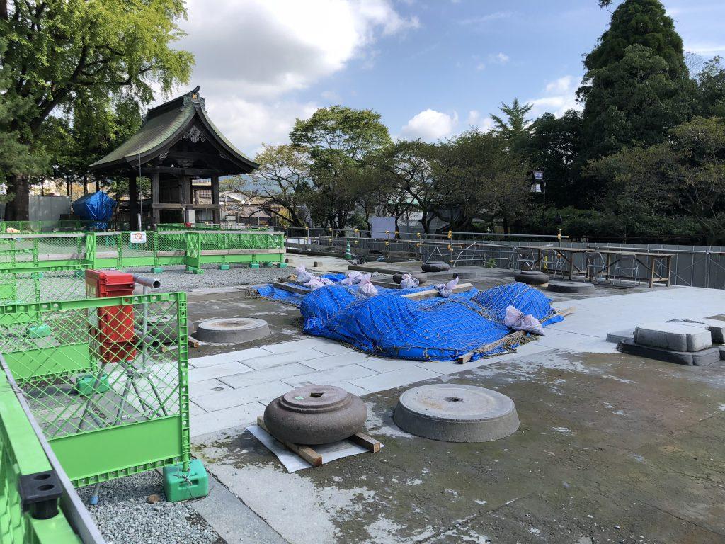 2018年9月25日の阿蘇神社の楼門の画像