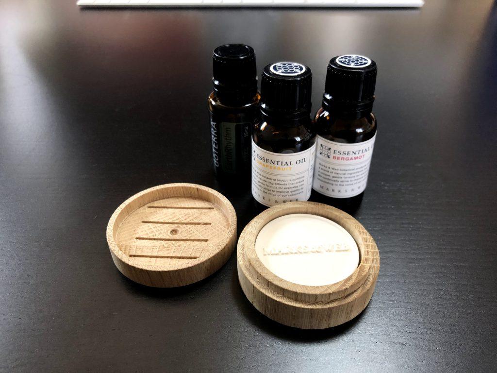 アロマオイル(エッセンシャルオイル)の香り